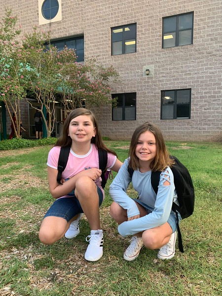 Keeley and Kira | 5th grade and 3rd grade | Block House Creek Elementary