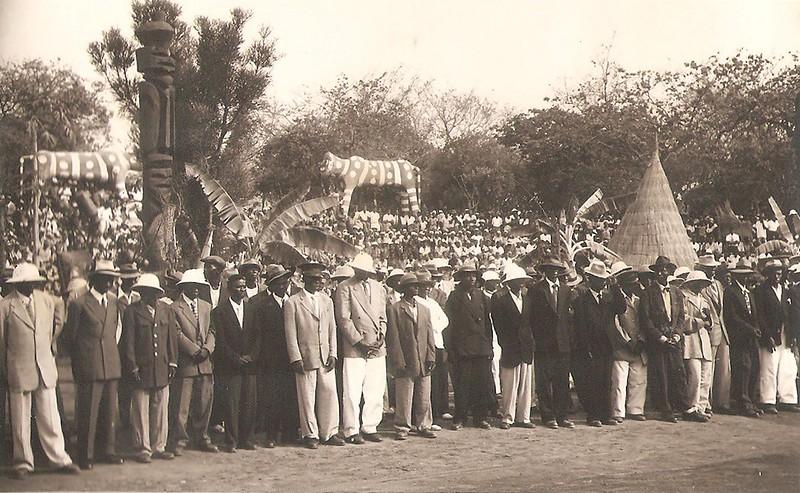 Dundo - 1 de Setembro 1957 FESTA GRANDE
