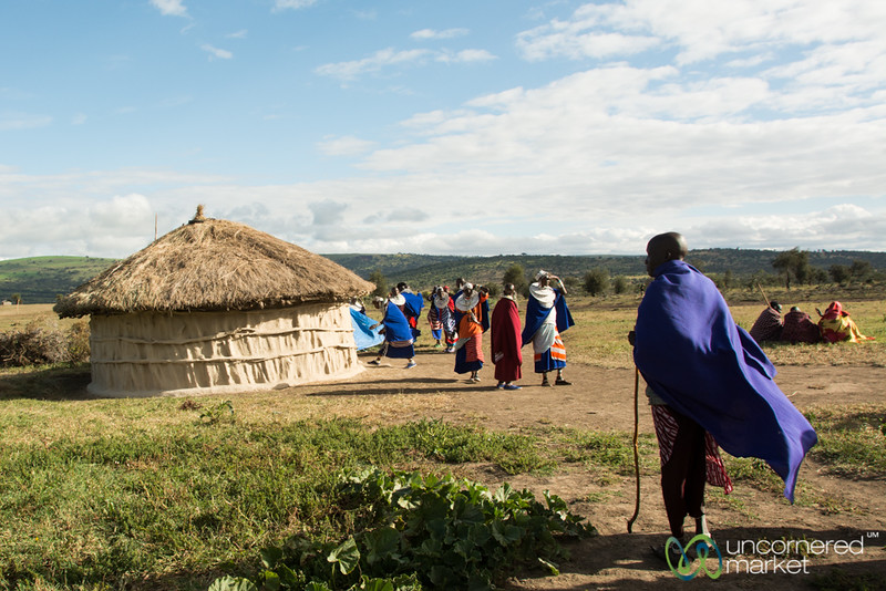 Maasai Village, Warriors and Women - Northern Tanzania