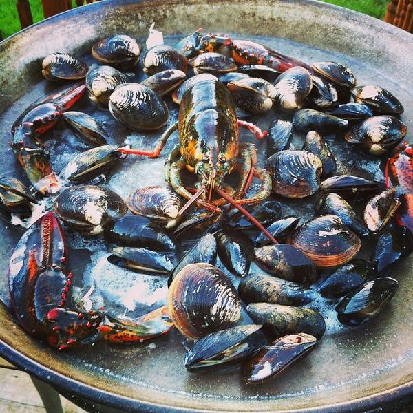 Coming soon: seafood #paella #jux