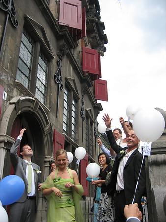 Bruiloft Marieke & Kees Jan 02-08-2008