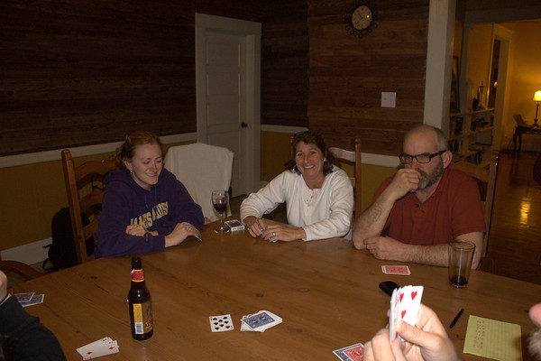 Rummy game #35435. Melissa, Kelley, Rick