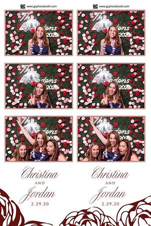 02-29-20 Christina and Jordan