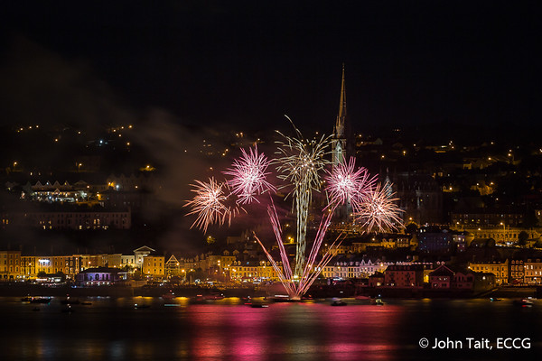 Cobh Peoples' Regatta Fireworks - 14/08/16