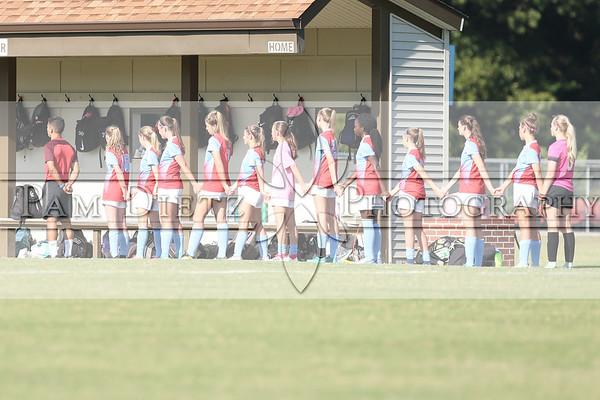 USJ girls soccer v Lausanne 10-4-18