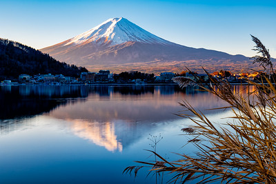 Sunrise on Fuji San