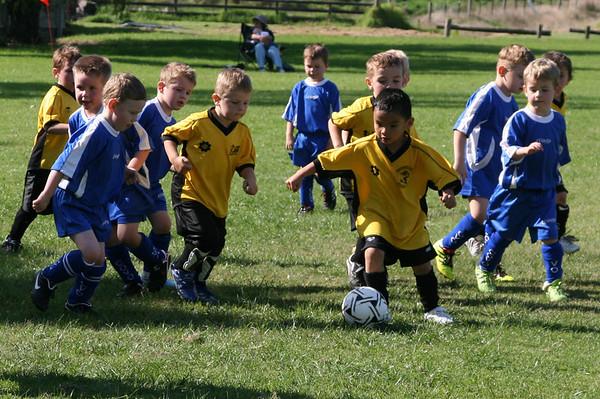 1st Soccer Match - Seaford Yellow vs Langwarrin