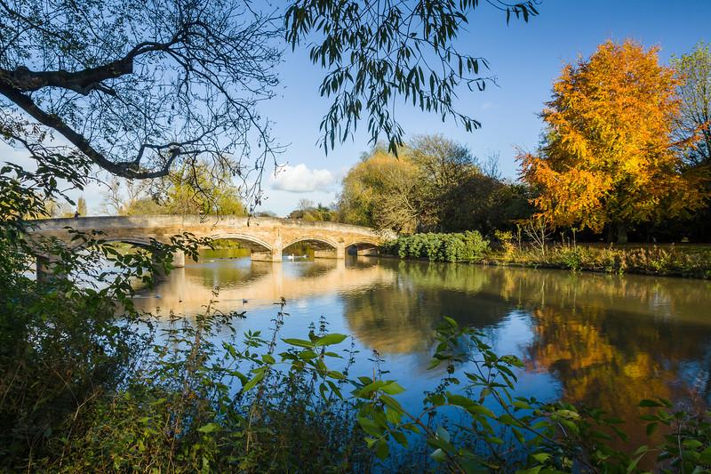 Abbey Park Bridge, Leicester, England