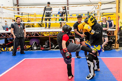 No Knockout Sparring at Pure Fitness Martial Arts in Bellingham, Wash.