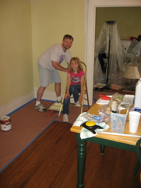 Painting Curates House May 9, 2009 021.JPG