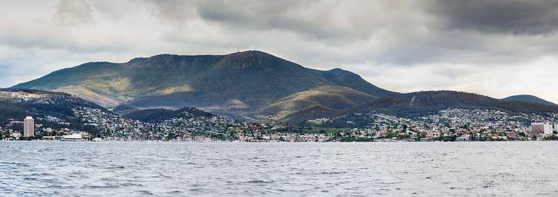 Hobart Panorama from Peter Robyn.