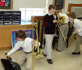 Lower School Band Class / Rehearsal 2008