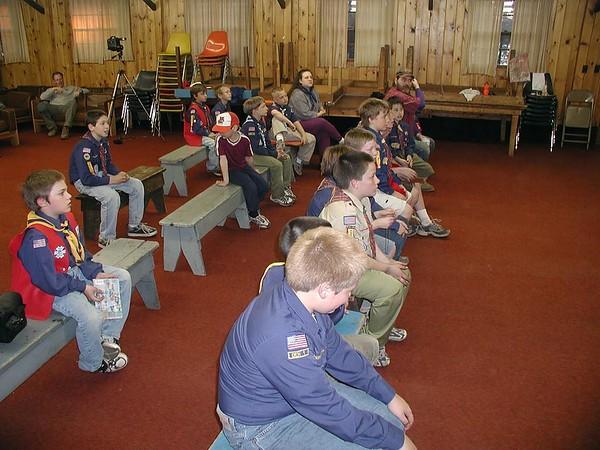 Camp Massawepie 2001