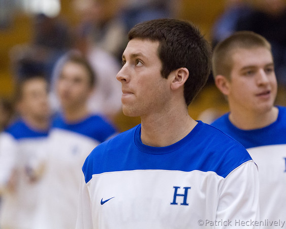 2012-03-03 Men's Basketball GLIAC Tournament - Hillsdale vs. Michigan Tech