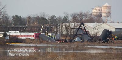11/30/2012, Train Delrailment, Paulsboro, Gloucester County, Mantua Creek