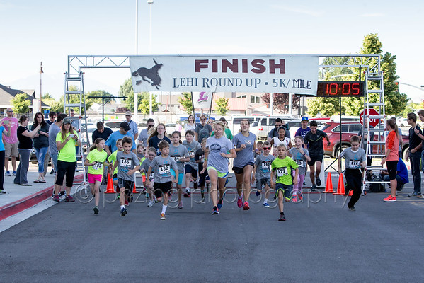 2016 Lehi Roundup Kids Mile