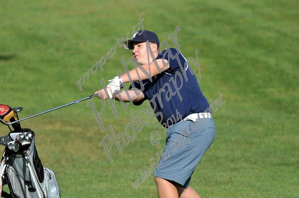 Wyomissing vs Oley High School Golf 2014 - 2015