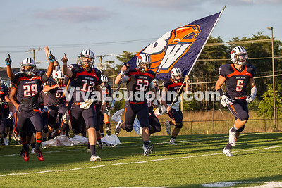 Football - Varsity: Briar Woods vs Brook Point 8.29.2014 (by Jamie Miley)
