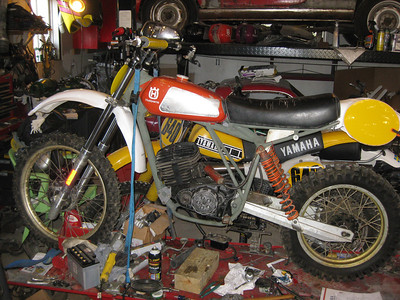 My 1980 Husqvarna CR390