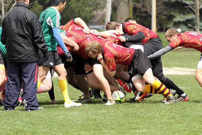 Calvin  Rugby Spring '13