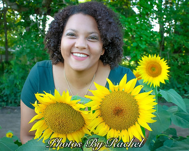 Kayla's Mini Senior Session with Sunflowers