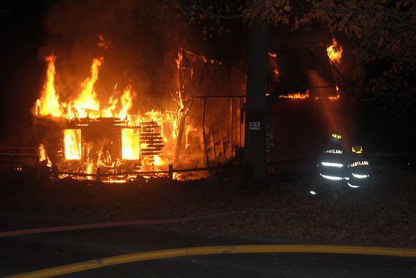 Fire In Hartland, Wed, October 20th