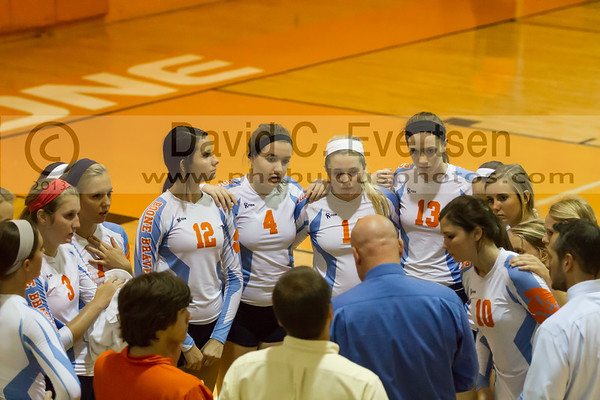 Dr. Phillips Panthers @ Boone Braves Girls Varsity Volleyball