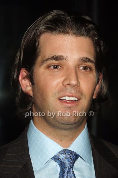 Donald Trump jr.  photo  by Rob Rich © 2008 robwayne1@aol.com 516-676-3939