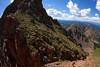 Mark Koelker and Joel Paula climbing The Grand Traverse in the Gore Range, CO.