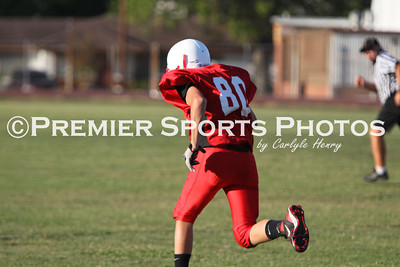Deer Park Junior High 8A Football vs Lomax 8A 10/5/2011