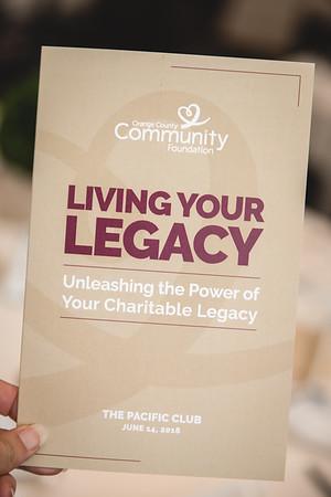 Orange County Community Foundation's 2018 Legacy Luncheon