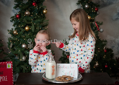 Ethan and Emily Holiday Portraits