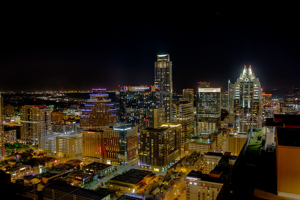 City of Austin skyline - Sun, Mar 19, 2017