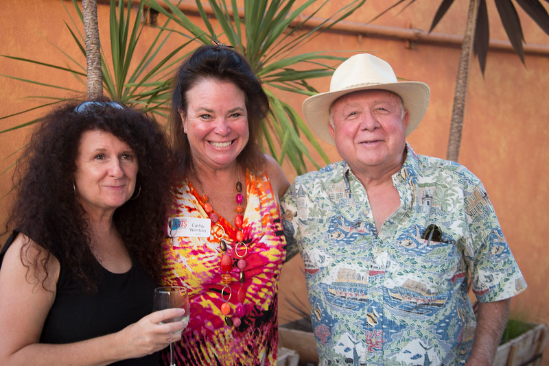 16  Artist Cathy Winton-center - Norm Arnold-right and unknown on left.jpg