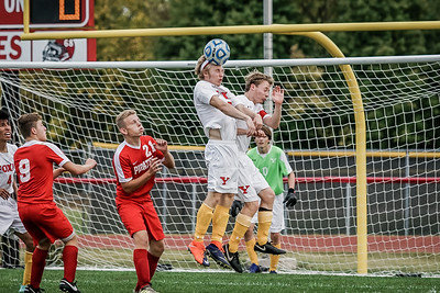 2017 Yorkville Boys Varsity Soccer vs Ottawa