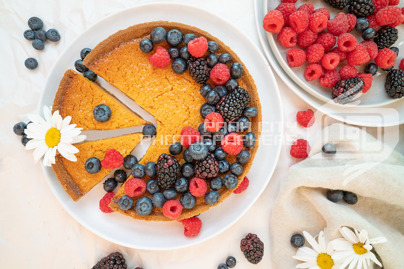 Sweet Potato Pie and fruit