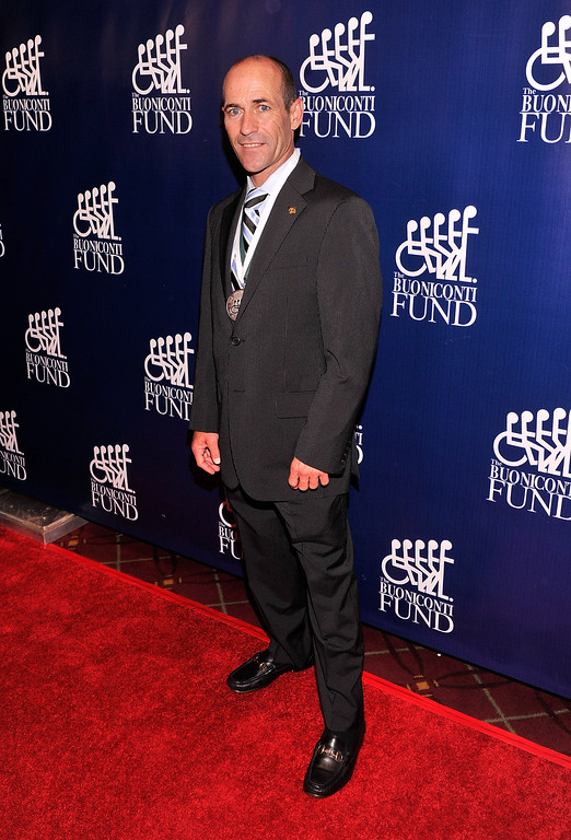 . Honoree and Jockey Gary Stevens attends the 28th Annual Great Sports Legends Dinner to Benefit The Buoniconti Fund To Cure Paralysis at The Waldorf Astoria on September 30, 2013 in New York City.  (Photo by Stephen Lovekin/Getty Images for The Buoniconti Fund To Cure Paralysis)