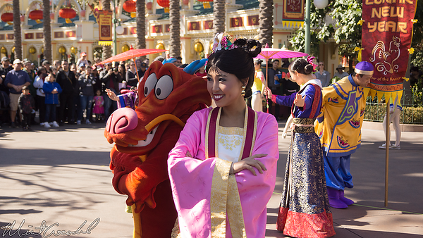 Disneyland Resort, Disney California Adventure, Paradise Pier, Paradise, Pier, Lunar New Year, Lunar, New, Year, Rooster, Mulan, Mushu, Celebration