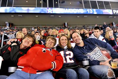 Pats vs Cowboys, October 16, 2011