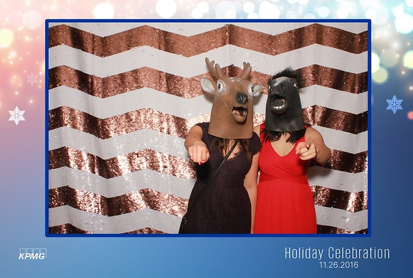 KPMG Calgary Holiday Party 2016 - Booth 2