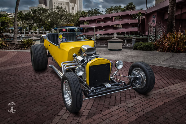 1923 Ford T-Bucket Yellow Jay Fedora