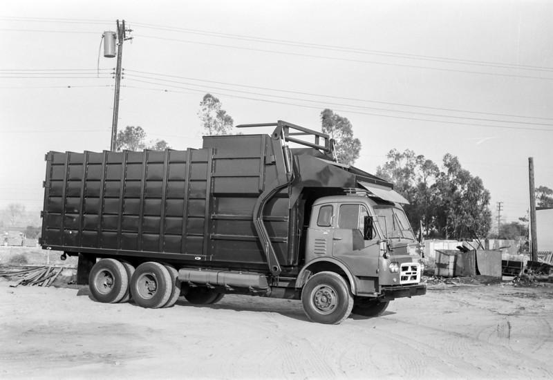 Notice the unusual twin fuel tanks