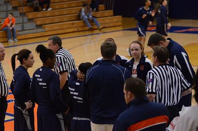 OE Varsity Girls Basketball VS Oswego 2013
