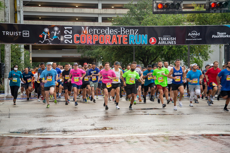 2021 Fort Lauderdale Mercedes-Benz Corporate Run presented by Turkish Airlines