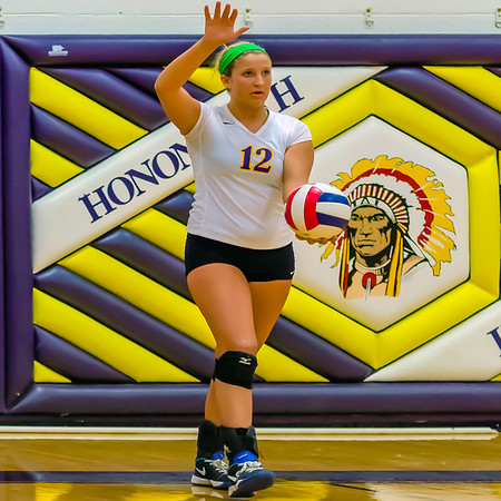 Hononegah HS Volleyball Star - Macy Geyer