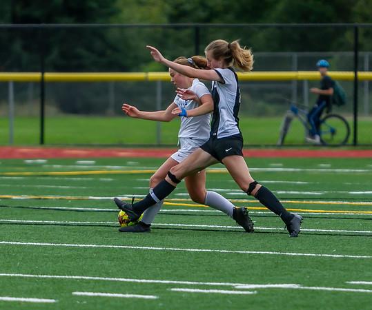 Set six, Second half: Girls Varsity Soccer v University Prep, 09/14/2019