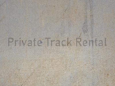 Private Track Rental