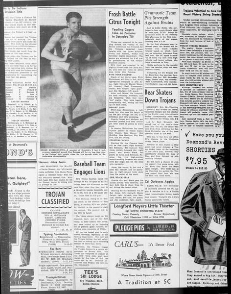 Daily Trojan, Vol. 33, No. 81, January 07, 1942