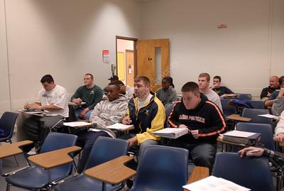 24516 Classroom Dr Ziatz and students classroom in Coliseum