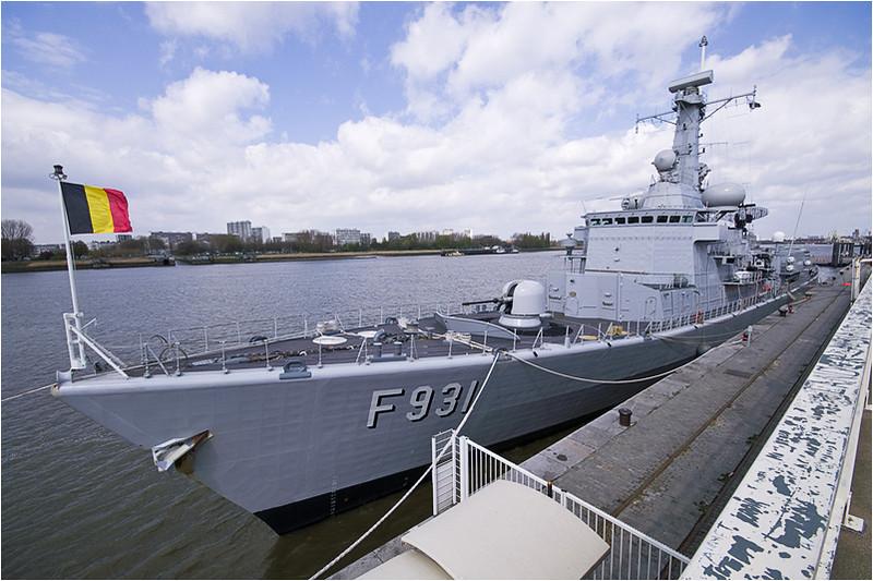 Belgian Navy; DG ass